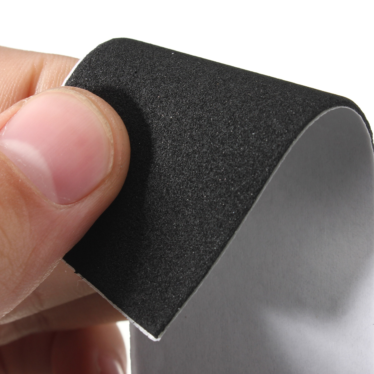 12 x Black Foam Grip Tape Self-adhesive Stickers 110x35mm for Wooden Fingerboard