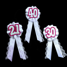 1pcs Lace brooch with number 21 30 40 for birthday party costume accessories 50% off if buy 5pcs or more event party supplies