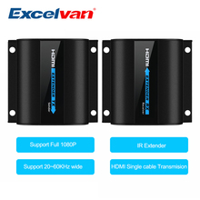 LKV372A HD 1080P HDMI Extender TX/RX 60M with IR over CAT6 RJ45 Ethernet Cable Support HDMI 3D for HDTV DVD Player(China)