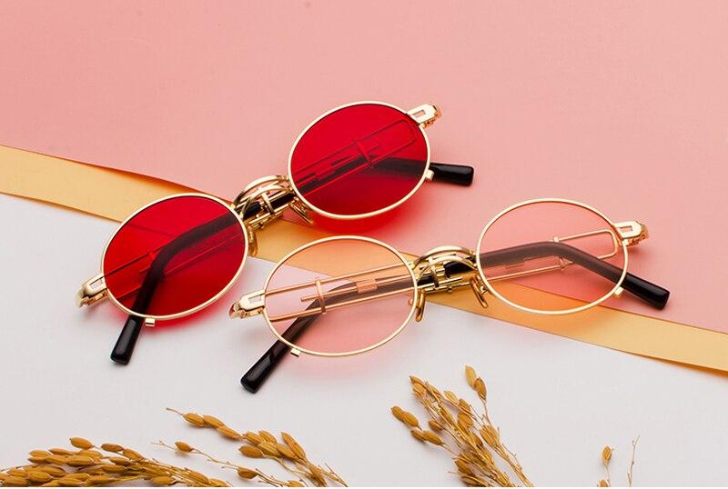 metal round steampunk sunglasses 900038 details (3)