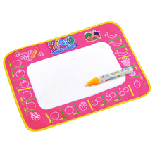 Magic Aqua Doodle Mat Water Write Drawing Painting Canvas Game Blanket 48x38cm Children Practise Drawing Play Carpet