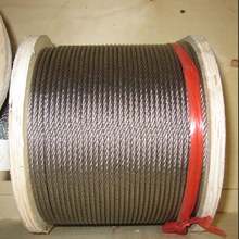 1mm 7*7 100meters 304 Soft Stainless Steel Wire Rope / Clothing Rope / pulling rope/ Mold Rope(China)