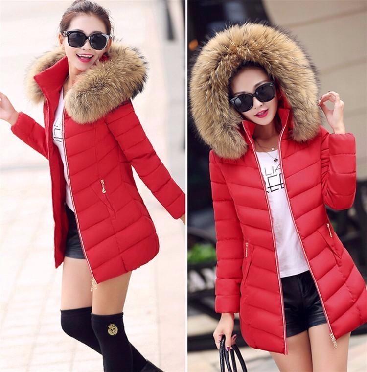 Куртка зимняя женская 2017