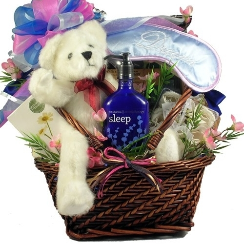 Gift Basket Drop Shipping ReAnRe Rest and Renewal Aromatherapy Spa Gift and Gourmet Basket (1)