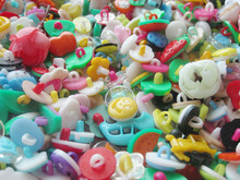 200pcs Hot!!!! new mix Color Assorted Button Sewing Children decoration Craft Garment Accessorie Buttons scrapbooking botoes(China)