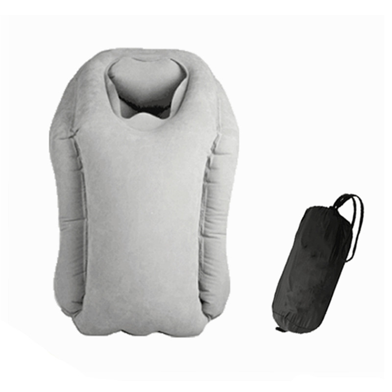 2017 hot sale Multi-function Inflatable Woollip travel outdoor pillow Inflatable Travel on Airplane outdoor Pillow Cushion mat  (17)