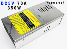 5v switching power supply 70a 350w Waterproof Power Supplies For LED Strip display light transformer 220V to 5c 110v AC-dc smps