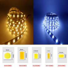 DC12V RGB LED Strip Light SMD5050 5630 3528 3014 2835 Fita Led string Ribbon tape Bar Neon New Year Christmas Decoration Lampada