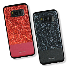 DZGOGO Luxury Bling Cases for Samsung Galaxy S8/S8 Plus Shining Back Cover TPU & PC Cases for Samsung S8 Plus Dual Sim Covers(China)