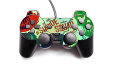 Factory Price Vinyl Skin Sticker For Sony Playstation 2 Wired Controller Controle Decal Gamepad Cover For PS2(China)