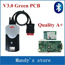 Quality A V3.0 Green PCB Support More Car Model For New vci vd tcs cdp with bluetooth SCANNER VD TCS cdp pro plus with LED 3 IN1