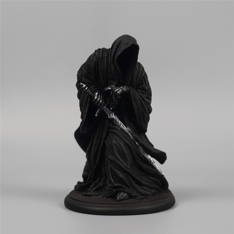 Costume Props Anime Movie Garage Kit Classic The Lord Of Rings Witch-king Of Angmar Doll Action Figure Model Loose Toy Resin Statue Collecti