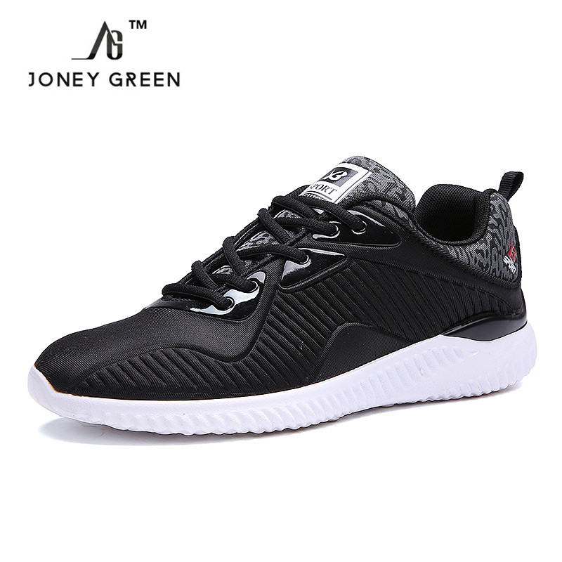 Spring Trainers Mens Shoes Flat Shoes Walking Casual Soft Breathable Mesh Zapatillas Deportivas Spring Lace-up 2017 Men Shoes<br><br>Aliexpress