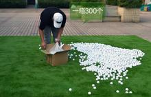 Wholesale Golf Balls Driving Range golf ball Golf practice balls Two layer balls(China)
