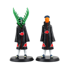 Chanycore Hot 16cm 2pcs/set OPP Uchi Houbara Naruto Shippuden Akatsuki Uchi Houbara+Zetsu Action Figure Real Film Model Toy