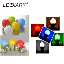 LEDIARY 10PCS/Lot Colorful LED G45 Global Bulb E27 Socket Lights 220V Decorative Lamp Night Light For Christmas/Party/Wedding