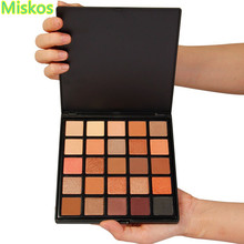 25 Colors Matte Shimmer Eyeshadow Palette Makeup Highly Pigmented Warm Neutral Cosmetic EyeShadows in One Palette Make up Set(China)