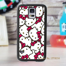 hello kitty fashion cover case for samsung galaxy s3 s4 s5 s6 s7 s6 edge s7 edge note 3 note 4 note 5 #1048