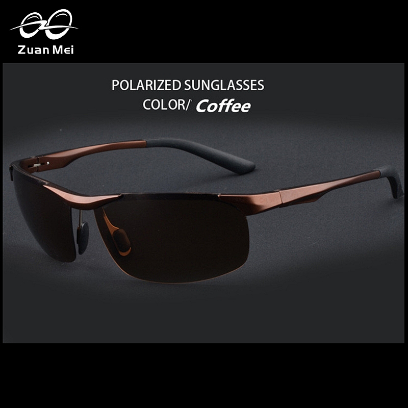 Zuan Mei Aluminum Polarized Mens Sports Sunglasses Mirror Sun Glasses For Men Driving Outdoor Glasses Men Goggle Eyewear ZM-8531<br><br>Aliexpress