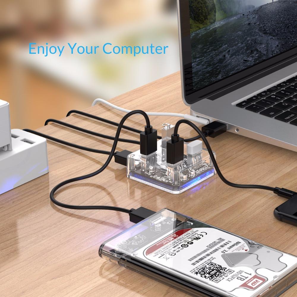 Nelja pordiga USB jagaja
