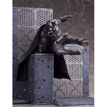 20cm New arrival Batman Toy Figures Scene free to match batman action figure scale model(China)