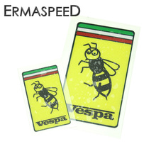 Motorcycle Vespa Helmet Sticker Bee Logo Decals Styling Waterproof Anti-scratch Motobike Scooter Decor PVC Stickers for Piaggio