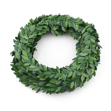 7m Artificial Green Flower Nylon iron wire Leaves Rattan DIY wreath Accessory For Wedding Decoration garland