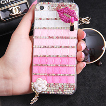 Bling Diamond Style Cute Cartoon Pattern Rhinestone Cell Phone Case Cover for Samsung J5 2017/S8/S8 Lite/C5 Pro/C7 Pro