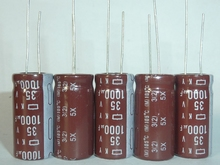 The original NCC 35V1000UF KY Cap electrolytic capacitor is 105 ~ C12.5X25 DIY electrolytic capacitors
