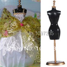 Free shipping, New Arrival 10 sets/lot hot selling Dress/Clothes Display Clothes Stand For Barbie Dolls