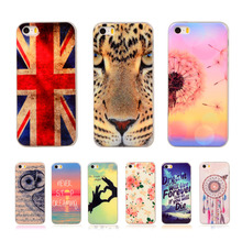 "5SE 5S Cartoon Capa Gel Silicone Soft TPU Cover For Apple iPhone 5 5S 5G/ iphone SE 4.0"" Back Skin Fundas Phone Protective Case"
