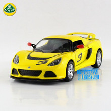 Free Shipping/1:32 Scale/2012 Lotus Exige S/Classical Educational Model/Pull back Diecast Metal toy car/Collection