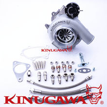 "Kinugawa Ball Bearing Billet Turbocharger 4"" GTX3076R Trim84 AR.64 for SUBARU WRX STI"