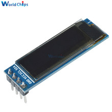 Free Shipping 0.91 Inch 128x32 IIC I2C Blue OLED LCD Display DIY Oled Module SSD1306 Driver IC DC 3.3V 5V For Arduino PIC