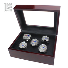2017 Latest official 4 pcs/set New England Patriots Super Bowl Championship Ring Set 2001 2003 2004 2014 2017 For Fans Size 11