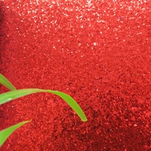 7m one roll grade 3 chunky red glitter wallpaper light reflection fancy wallpaper manufacturer(China)