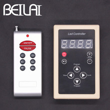 BEILAI DC 12V Dream Color LED Controller 133 Mode Colorful Magic RGB LED RF Remote Control For WS2811 1804 1903 IC LED Strip(China)