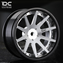 Buy DC RC 1:10 DC-S10 WHEEL OFFSET +6&+9MM CHANGEABLE SILVER/BLACK EP 1:10 RC CARS DRIFT DC-90301, 4PCS for $41.40 in AliExpress store
