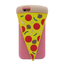 2017 Fashion Italy food cartoon joy doll bread cake candy pizza soft silicone case cover skin For Iphone 5 5s se/5c/6 6s 4.7inch(China)