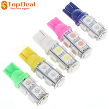 Hot Product T10 5050 3W 12V 9 LED 4000K Bulb for Car Light