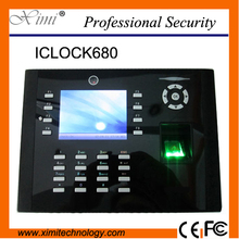 Zk Wifi Tcp/Ip Fingerprint Time Attendance With Free Software And Sdk Biometric Time Recorder System(China)