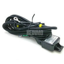35W H4 high and low HID Bi Xenon Controller Cable Relay Harness hi lo beam H4 wire(China)