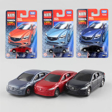 3pcs hot Tomy miniature kid's scale tomica Mazda Atenza racing diecast cars models baby auto toys plastic cheap styling for boys