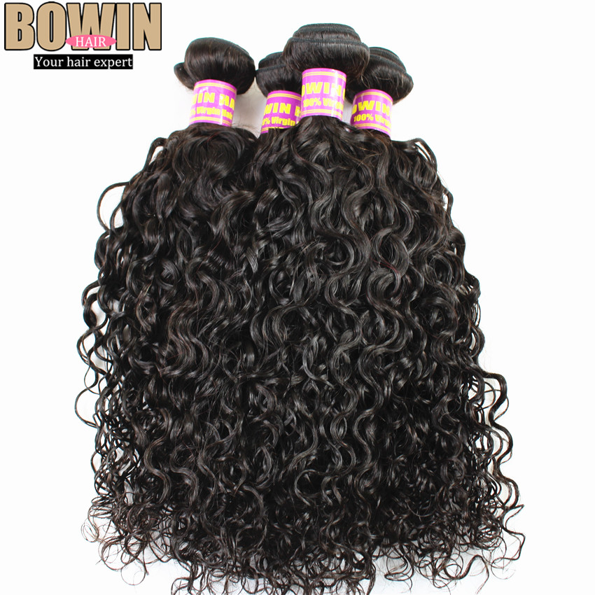 Malaysian Wavy Virgin 10pcs lot BOWIN hair Products 100% Human Hair Extensions<br><br>Aliexpress