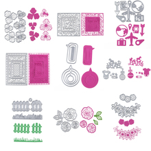 25 patterns New Customized Frame Cutting Dies Knives decoration gifts Practice DIY  Scrapbooking  Album Diy Scrapbooking die