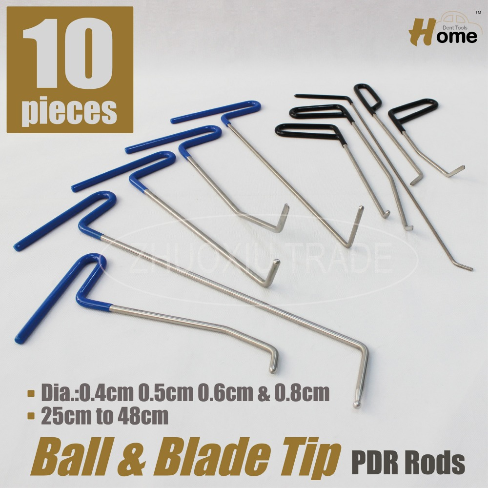 PDR Hook Tool Set pack of 10pc (B7891011C23456)<br><br>Aliexpress