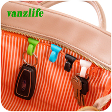vanzlife creative anti lost bag hooks inside built-key holder bag inner key clip for easy carrying 2 pieces a lot
