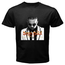 New Sean Paul Reggae Hip Hop Album Music Men's Black T-Shirt Size S to 2XL demarcus cousins