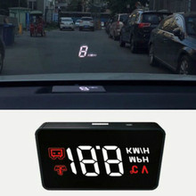 Automobile obd2 Vehicle HUD Rise Monitor OBD Driving Computer Speed Projector head up display Security A100 Simple car gadgets