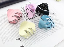 Top Quality Arcylic Candy Color Crab Hair Clip Hair Claws Kids Hair Ornaments Women Accessories Girl Hairgrip Hairclip(China)